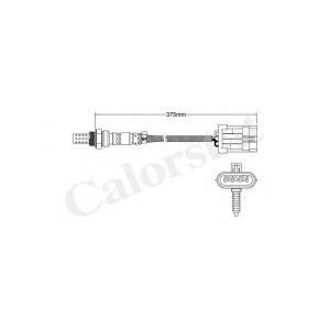 CALORSTAT BY VERNET LS140010 Лямбда-зонд DAEWOO/OPEL/VAUXHALL/LANOS/MATIZ/LEGANZA/REZZO (Датчик кислородный) 4-х проводной