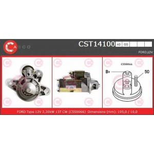 CASCO CST14100 Стартер