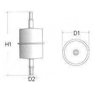 CHAMPION L104606 фільтр паливний