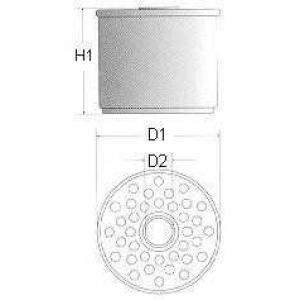 Топливный фильтр l132606 champion - FORD SIERRA Наклонная задняя часть (GBC, GBG) Наклонная задняя часть 1.8 TD