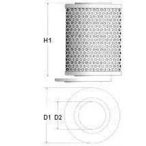 Топливный фильтр l135606 champion - CITRO?N VISA Наклонная задняя часть 17 D