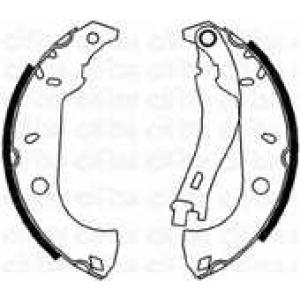 CIFAM 153067 Комплект тормозных колодок