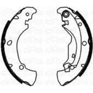 CIFAM 153076 Комплект тормозных колодок