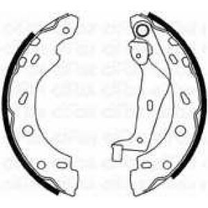 CIFAM 153237 Комплект тормозных колодок