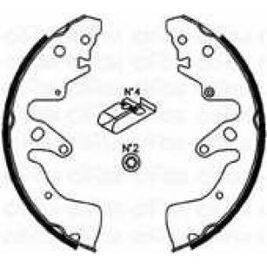 CIFAM 153407 Комплект тормозных колодок