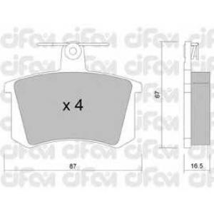 CIFAM 8220480 Комплект тормозных колодок, дисковый тормоз