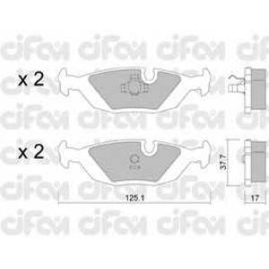 CIFAM 822-070-1 Комплект тормозных колодок, дисковый тормоз Бмв 5