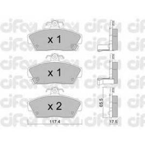 CIFAM 8221190 Комплект тормозных колодок, дисковый тормоз