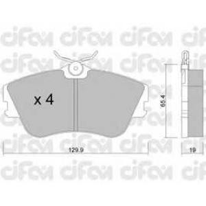 CIFAM 8221640 Комплект тормозных колодок, дисковый тормоз
