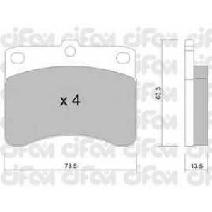 CIFAM 822-201-0 Комплект тормозных колодок, дисковый тормоз Дайхатсу