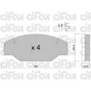 CIFAM 8222270 Комплект тормозных колодок, дисковый тормоз