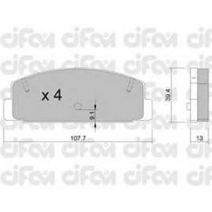 CIFAM 8223021 Комплект тормозных колодок, дисковый тормоз