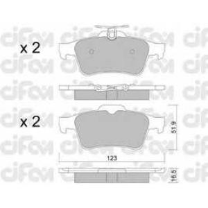 CIFAM 8223371 Комплект тормозных колодок, дисковый тормоз