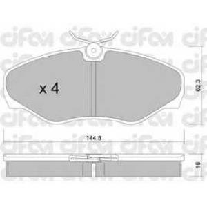 CIFAM 8223382 Комплект тормозных колодок, дисковый тормоз