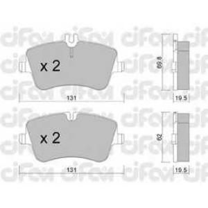 CIFAM 8223420 Комплект тормозных колодок, дисковый тормоз