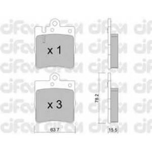 CIFAM 8223440 Комплект тормозных колодок, дисковый тормоз