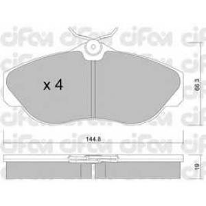 CIFAM 8223500 Комплект тормозных колодок, дисковый тормоз
