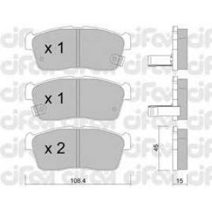 CIFAM 822-415-0 Комплект тормозных колодок, дисковый тормоз Дайхатсу