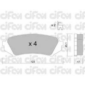 CIFAM 8224530 Комплект тормозных колодок, дисковый тормоз