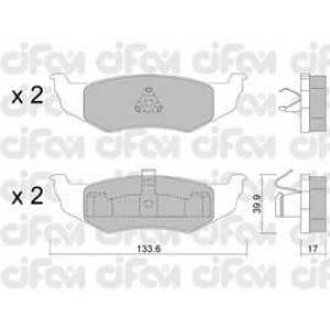CIFAM 822-522-0 Комплект тормозных колодок, дисковый тормоз Додж Стратус