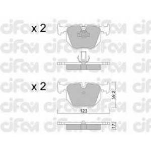 CIFAM 8225600 Комплект тормозных колодок, дисковый тормоз