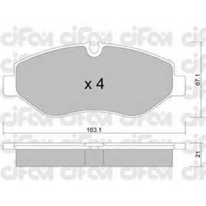 CIFAM 8226710 Комплект тормозных колодок, дисковый тормоз