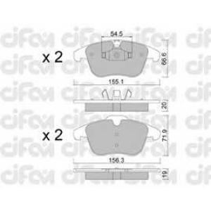 CIFAM 8226750 Комплект тормозных колодок, дисковый тормоз