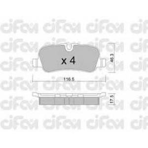 CIFAM 8226940 Комплект тормозных колодок, дисковый тормоз