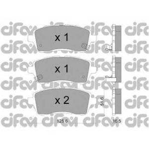 CIFAM 822-793-1 Комплект тормозных колодок, дисковый тормоз Дайхатсу