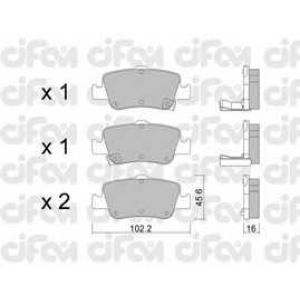 CIFAM 8227960 Комплект тормозных колодок, дисковый тормоз