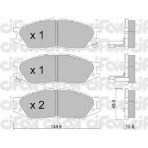 CIFAM 8228100 Комплект тормозных колодок, дисковый тормоз