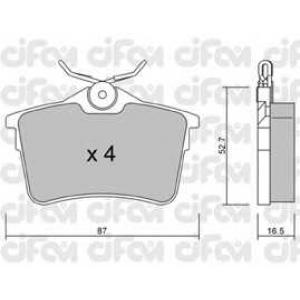 CIFAM 8228160 Комплект тормозных колодок, дисковый тормоз