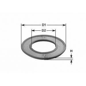 CLEAN FILTERS MA437 Воздушный фильтр