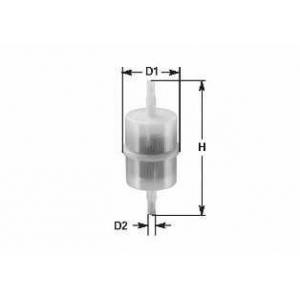 CLEAN FILTERS MBNA001 Топливный фильтр