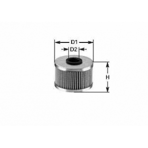 CLEAN FILTERS ML 486 Фільтр масла DB W 123/201 2,3