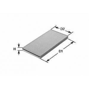 CLEAN FILTERS NC2001 Фильтр, воздух во внутренном пространстве