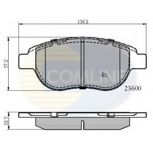 COMLINE CBP01038 Brake Pad