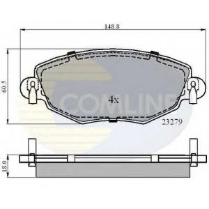 COMLINE CBP01110 Brake Pad