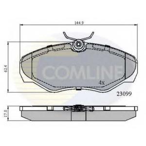 COMLINE CBP01127 Brake Pad