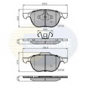 COMLINE CBP01323 Brake Pad