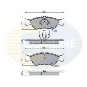 COMLINE CBP0478 Brake Pad
