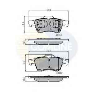 COMLINE CBP0946 Brake Pad