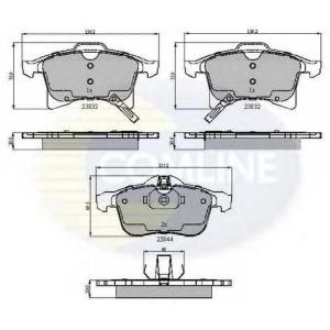 COMLINE CBP31307 Комплект тормозных колодок, дисковый тормоз Шевроле Зафира
