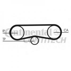 CONTITECH CT1018K1 Ремкомплект грм (Пр-во ContiTech)