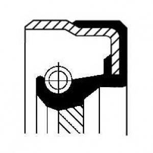 CORTECO 01017136B Сальник коробки передач