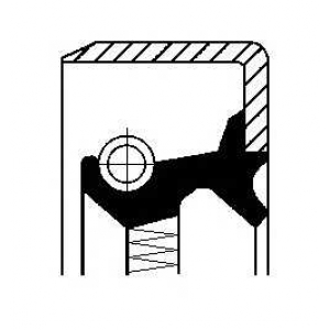Уплотняющее кольцо, ступица колеса 01019283b corteco - MERCEDES-BENZ 190 (W201) седан E Evolution II 2.5