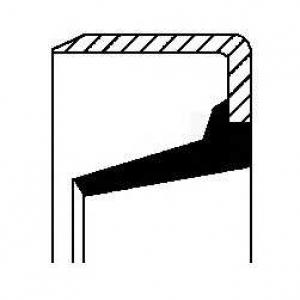 ����������� ������, ����������� ������� �������; � 01020437b corteco - SEAT TOLEDO I (1L) ��������� ������ ����� 1.6 i