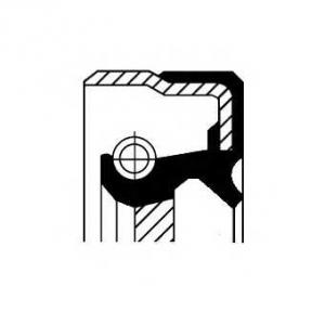 Уплотняющее кольцо, дифференциал 01025661b corteco - MERCEDES-BENZ 190 (W201) седан E 2.3-16 (201.034)