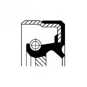 Уплотняющее кольцо, коленчатый вал 01029678b corteco - MERCEDES-BENZ E-CLASS (W124) седан E 320 (124.032)