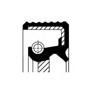Уплотняющее кольцо, ступенчатая коробка передач 01033852b corteco -